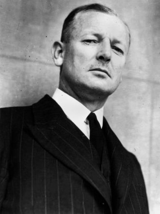 Alan Mansfield - Justice Alan Mansfield in Brisbane, 1945