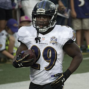 Justin Forsett - Forsett with the Baltimore Ravens in 2015