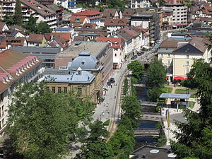 Innenstadt mit König-Karls-Bad