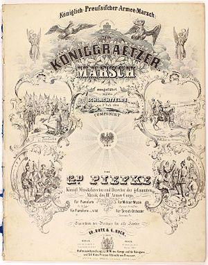 Königgrätzer Marsch - Image: Königgrätzer Marsch
