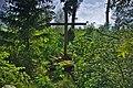 Kříž na skalách v části lesa zvaném Komárková, Benešov, okres Blansko.jpg
