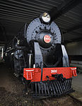 K-class steam engine locomotive, Auckland - 0650.jpg