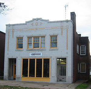 KDHX - Former KDHX station building