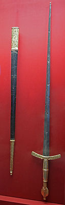 KHM Wien A 141 - Ceremonial sword of the Rector of the Republic of Ragusa, 1466