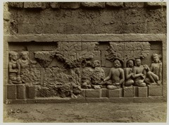 KITLV 28069 - Kassian Céphas - Relief of the hidden base of Borobudur - 1890-1891.tif