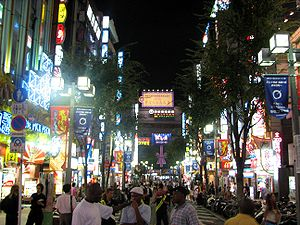 Personal life - Kabukicho is Tokyo's entertainment district.