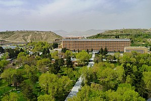 Health in Afghanistan - One of the main hospitals in Kabul, Afghanistan