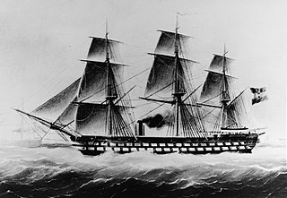 SMS <i>Kaiser</i> (1858) Austrian steam ship-of-the-line, commissioned 1859