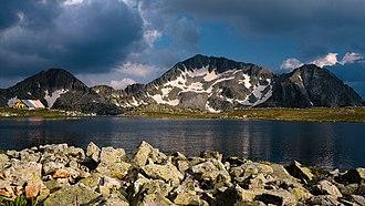 Pirin National Park - Kamenitsa Summit from Tevnoto Lake