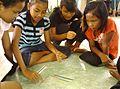 Kampung Punjut Orang Asli girls playing.jpg