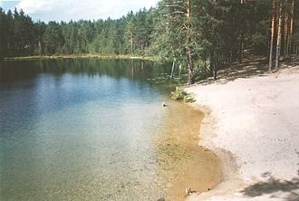 Karelian Isthmus - There are about 700 lakes on the isthmus