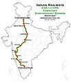 Karnataka Samparkkranti Express (Chandigarh - Yesvantpur) Route map.jpg