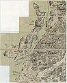 Kart over Onsö; Gleminge; Thunö; Raade; Rygge; en del av Vaaler; Svindal; Skibtvedt; Moss og Vassbygden; Jelöen og Soner; del 1 vest, 1804.jpg