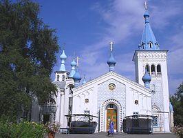 Katedrální kostel svatého Vzkříšení, Biškek.jpg
