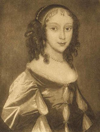 Thomas Fanshawe, 2nd Viscount Fanshawe - Katherine Ferrers at the time of her wedding—the only known portrait of her.