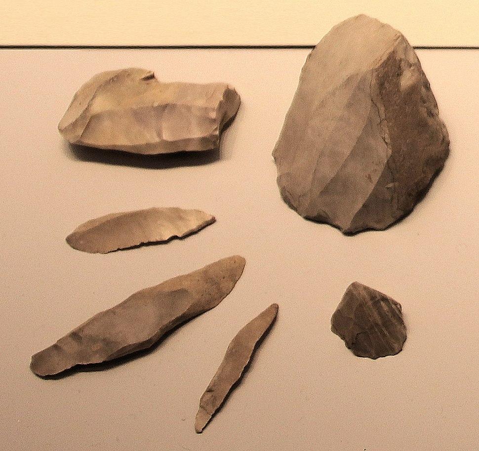 Kebaran culture microliths 22000-18000 BP