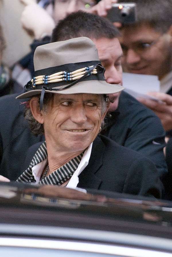 Photo Keith Richards via Wikidata