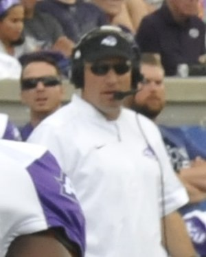 Ken Collums - Collums in 2016 at Falcon Stadium.