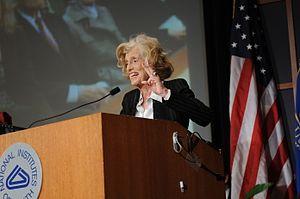 Eunice Kennedy Shriver - Eunice Kennedy Shriver speaks at March 3, 2008 ceremony in her honor