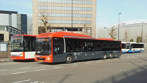 Keolis 6133 te Amsterdam