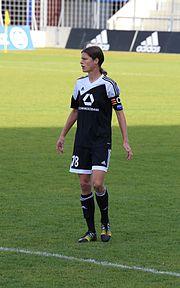 Kerstin Garefrekes DFB-Pokal Muenchen-3