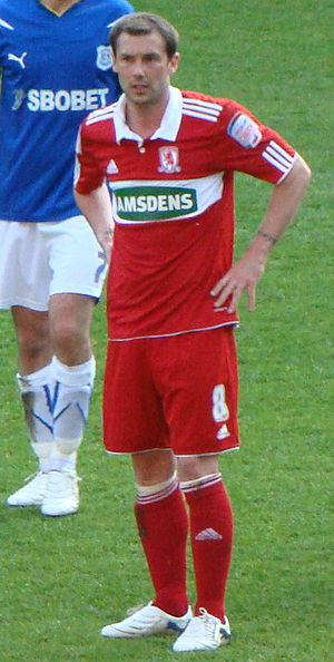 Kevin Thomson - Thomson playing for Middlesbrough in 2011