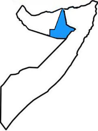 Khatumo State - Image: Khatumo Stateloc