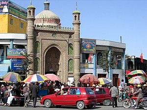 Hotan - Image: Khotan mezquita d 04