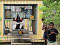 Kids Near Hindu Statue.jpg