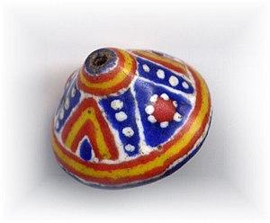 Kiffa beads - Kiffa bead, cone