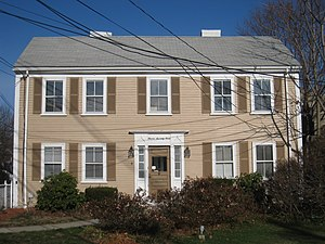 Kimball Farmer House - Image: Kimball Farmer House, Arlington MA IMG 2779