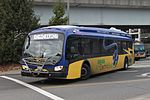 King County Metro Proterra Catalyst electric bus leaving Eastgate P&R (22997295244).jpg
