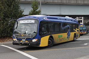 Proterra, Inc. - A Proterra Catalyst operated by King County Metro.