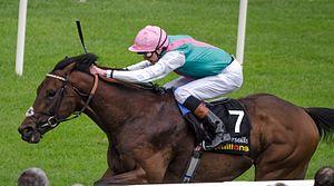James Doyle (jockey) - James Doyle riding Kingman