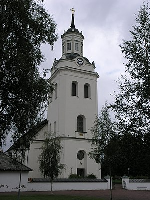 Orsa, Sweden - Orsa Church