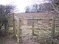 Kissing Gate near Slip Shaw - geograph.org.uk - 1703254.jpg
