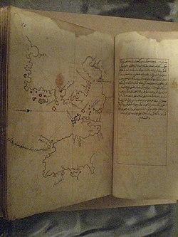 Piri Reisin Kitab-ı Bahriye kitabında İzmir körfezi