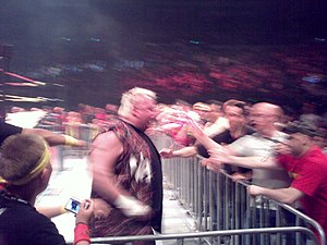 Brian Knobbs - Knobbs at the Hulkamania Tour.