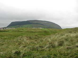 Knocknarea - Image: Knocknarea mountain geograph.org.uk 1634327
