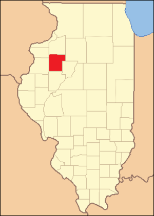 Knox County, Illinois - Image: Knox County Illinois 1831