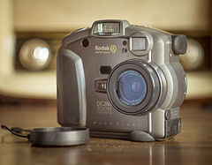 Kodak Dc 260 digital camera.JPG