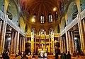 Koekelberg Basilique Nationale Sacré-Coeur Innen Chor 1.jpg
