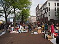 Koningsdag in Amsterdam, Haarlemmerplein foto 4.JPG