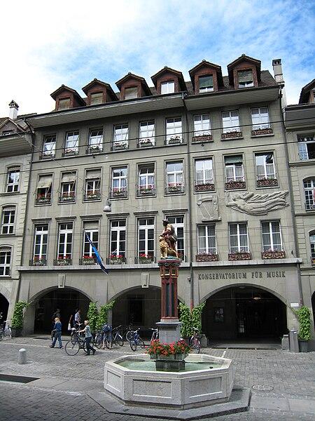 File:Konservatorium für Musik, Kramgasse 36, Bern.JPG