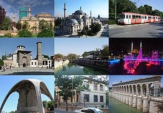 Konya Metropolitan municipality in Central Anatolia, Turkey