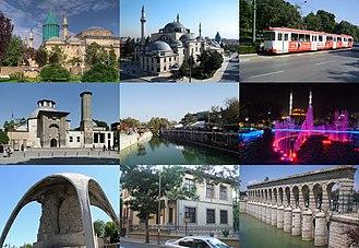 Konya - Image: Konya City Collage