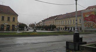 D2 road (Croatia) - Koprivnica, on the D2 road route