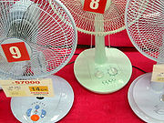 "Electric fans sold in Korea are equipped with a ""timer knob"" switch, which turns them off after a set number of minutes: perceived as a life-saving function, particularly essential for bed-time use."