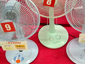 Fan death - Electric fans sold in South Korea are equipped with timer knobs that turn them off after a set number of minutes.  This is perceived as a life-saving function, essential for bedtime use.