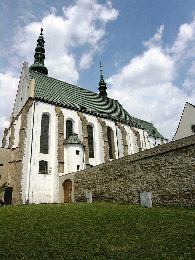 Church of the Exaltation of the Holy Cross, Prostějov